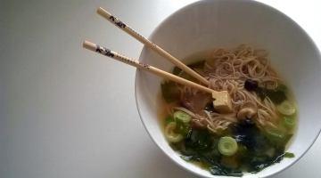Sopa de miso. Receta vegana muy beneficiosa para la salud
