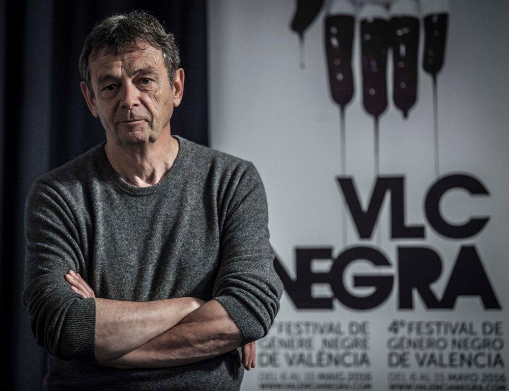 Pierre Lemaitre analiza presente y futuro de la novela negra. Comparecencia ante los medios del Premio Goncourt 2013 Pierre Lemaitre en la víspera de su intervención en el festival VLC NEGRA.