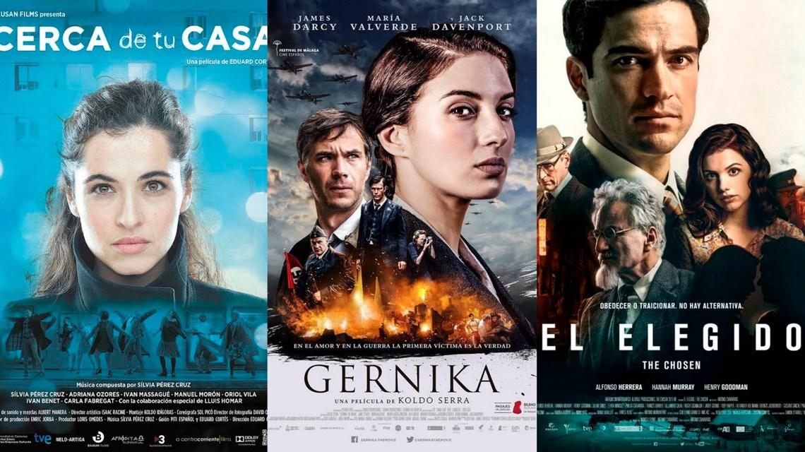Gernika, El elegido y Cerca de tu casa. Cine español de estreno. Crítica de cine de José Manuel Cruz.