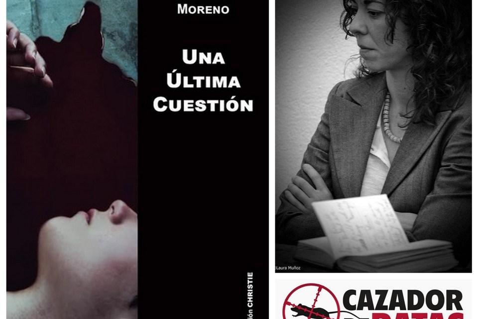 Carmen Moreno. Escritora y editora en Cazador de Ratas