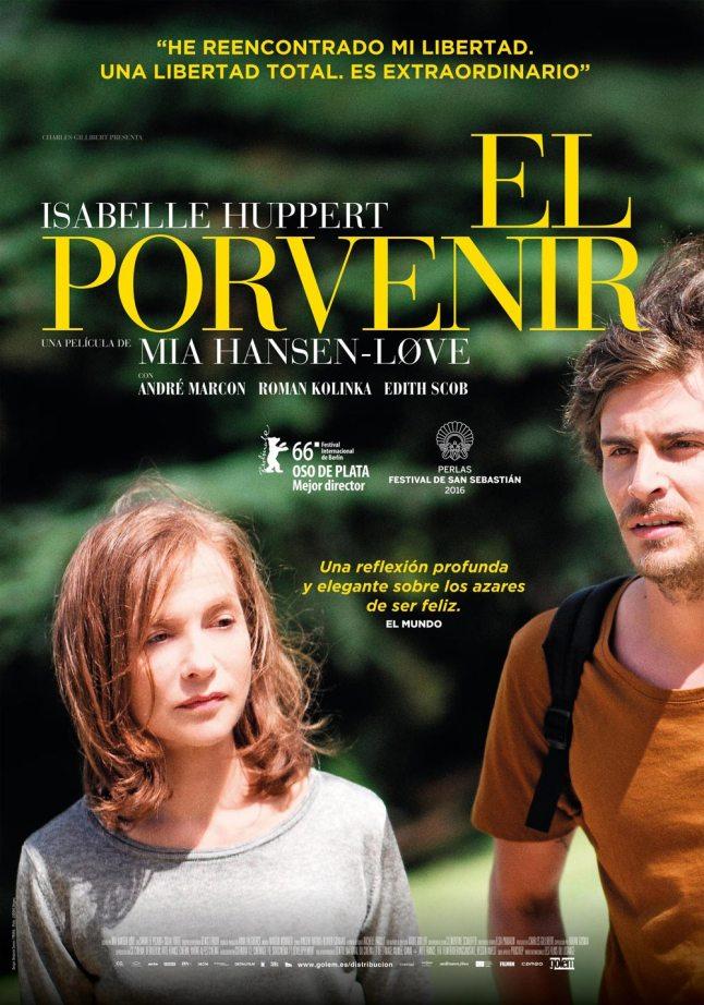 Isabelle Huppert y sus impresionantes papeles en El Porvenir y Elle