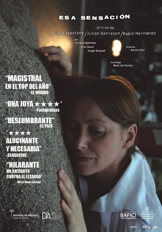 Cine español online: Esa sensación, Toro y Las amigas de Ágata. Critica de cine de Jose Manuel Cruz.