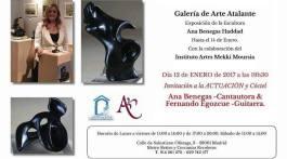 Galería de Arte Atalante. Exposición de la escultora Ana Benegas Haddad. Nota de prensa. MoonMagazine.