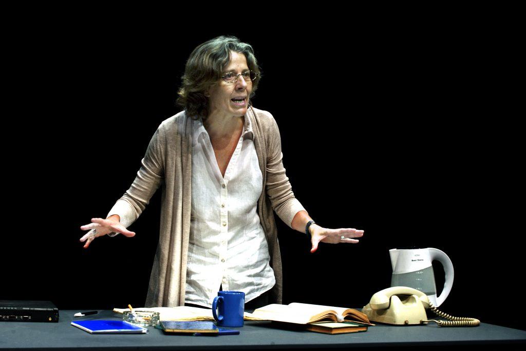 Miriam Iscla en Mujer no reeducable, de Stefano Massini