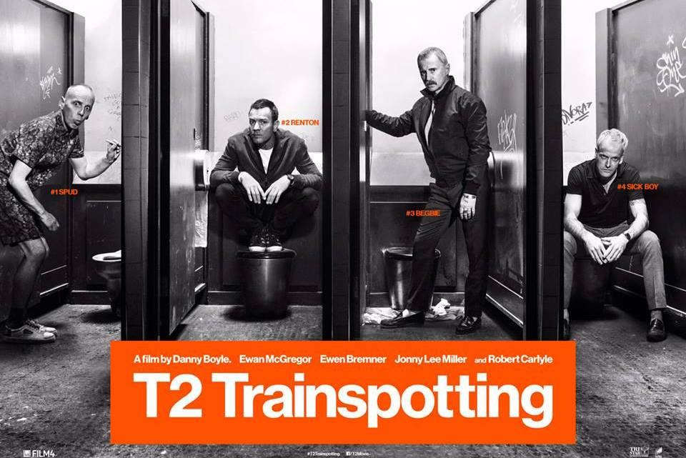 T2 Trainspotting, de Danny Boyle. Veinte años después... Reseña de cine de José Manuel Cruz.