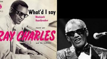 Hoy, en El Tocadiscos, la voz sentimental y negra de Ray Charles, con What'd I Say. J. J. Conde y Txaro Cárdenas.