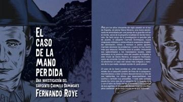 El caso de la mano perdida. Fernando Roye. Sinerrata Editores (2014). Reseña de Marisa Arias.