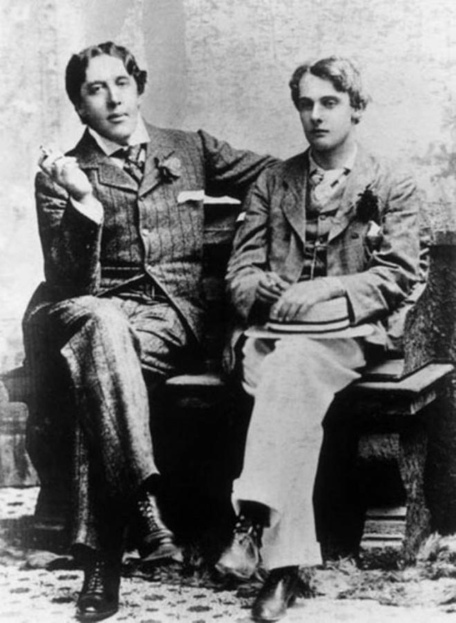 Óscar Wilde y lord Alfred Douglas