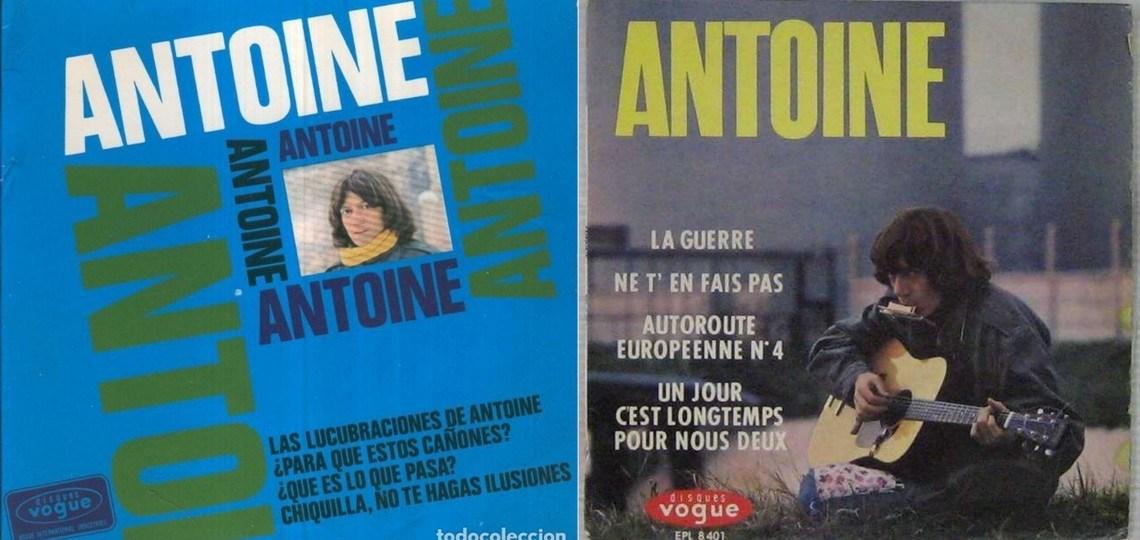 Hoy, en El Tocadiscos, un joven contestatario recuerda al melenudo francés, Antoine y su La guerre