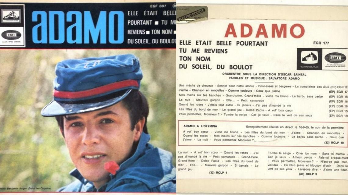 Hoy, en El Tocadiscos, una estela luminosa con Ton nom, de Salvatore Adamo 1