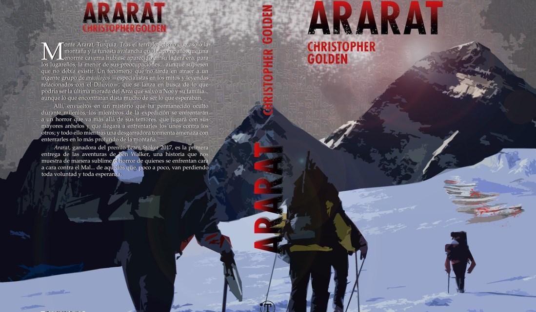 Ararat, de Christopher Golden, premio Bram Stoker 2017, en español 1