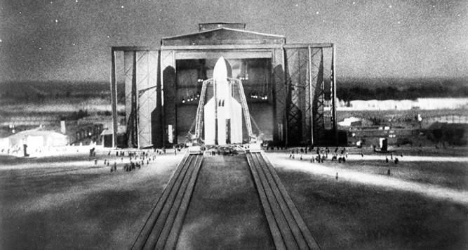 Una mujer en la luna, de Fritz Lang
