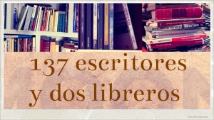 Una novela y una canción. El post que reúne a 137 escritores y 2 libreros