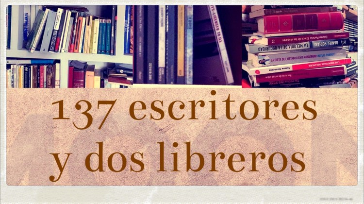 Una novela y una canción. El post que reúne a 137 escritores y 2 libreros