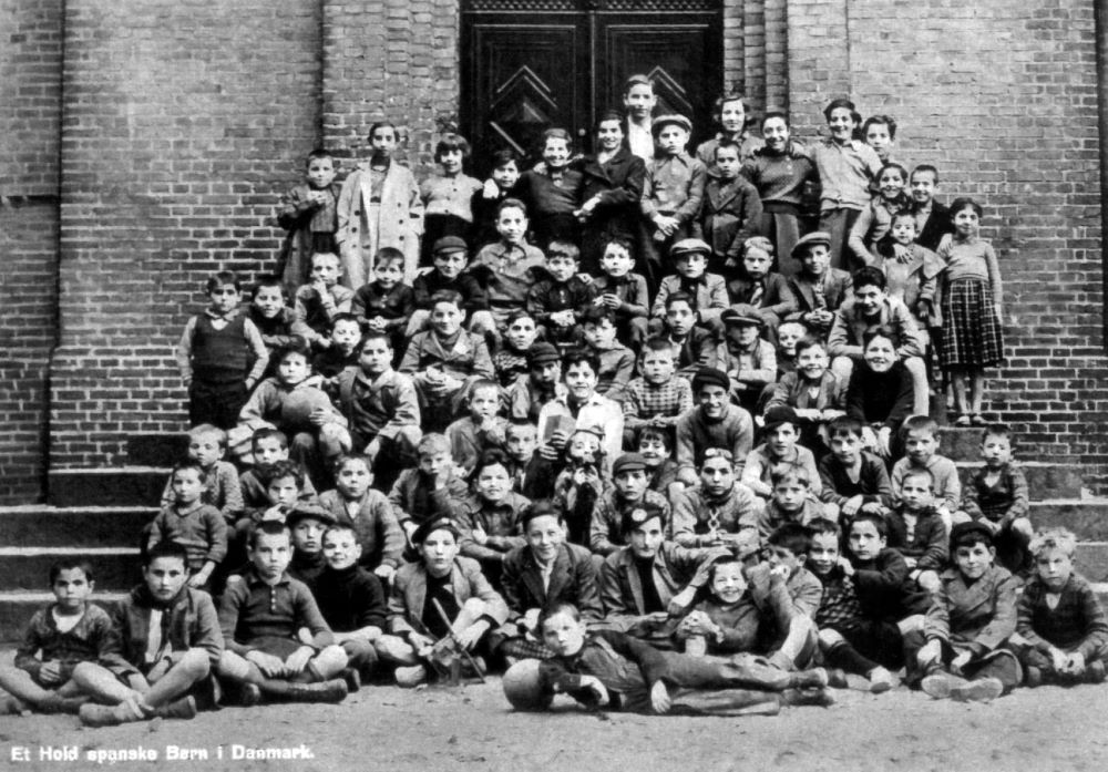 Cuando los menas eran niños y niñas españoles. Los Niños de la Guerra 1