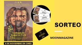 Participa y gana estos regalos exclusivos de la película Ventajas de viajar en tren 2