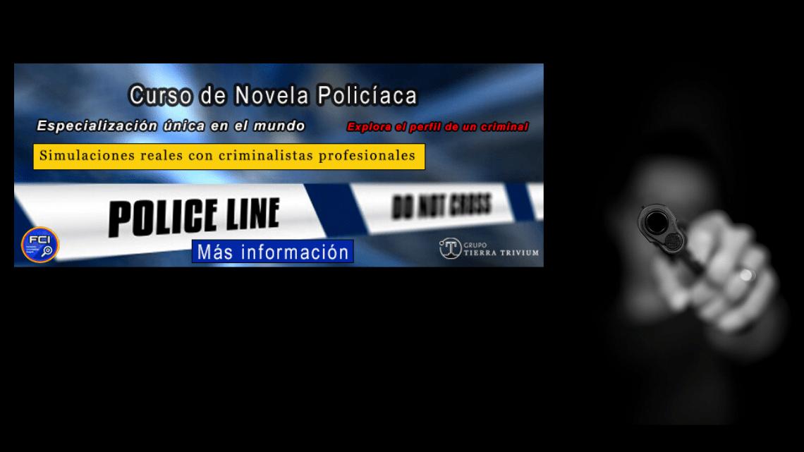 Curso de Formación Teórico-Práctica de novela policiaca 2