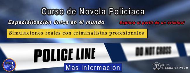 Curso de Formación Teórico-Práctica de novela policiaca