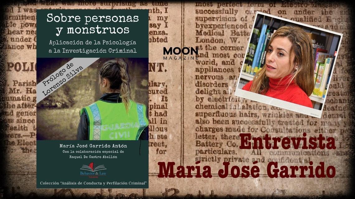 María José Garrido: es una necesidad conocer cómo piensa el criminal 1