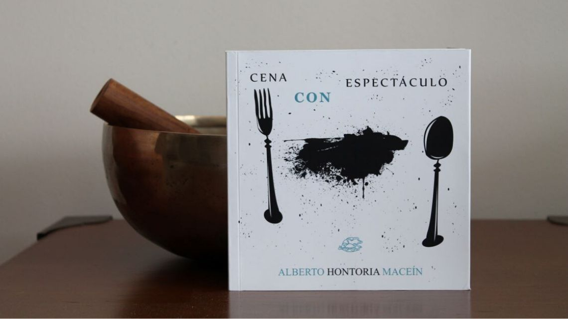 Cena con espectáculo, de Alberto Hontoria Maceín: libro de tapa blanda, retrato duro y cruel de la sociedad 1