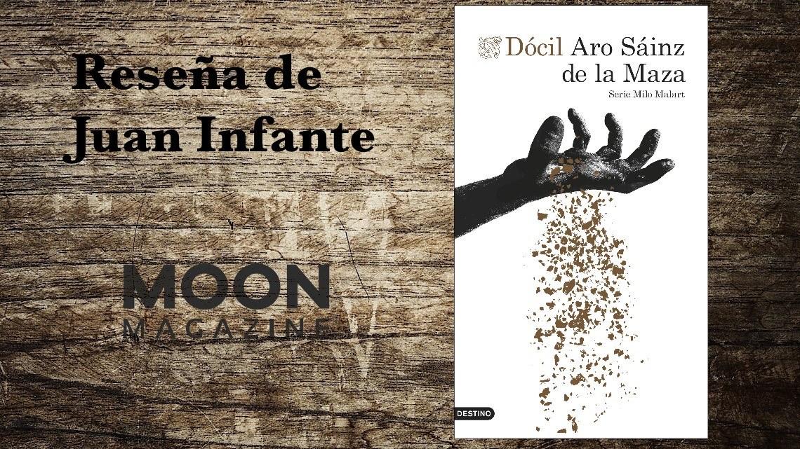 Dócil, de Aro Sáinz de la Maza. Vuelve Milo Malart: policía de los Mossos 1