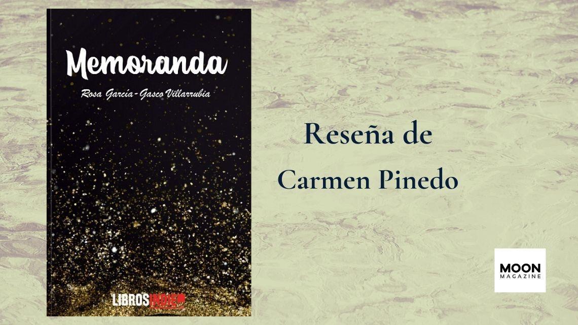 Memoranda, un poemario de Rosa García-Gasco Villarrubia 3