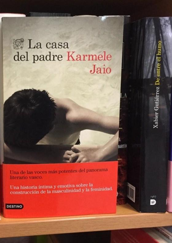 Entrevista a Karmele Jaio y sorteo de su última novela, La casa del padre