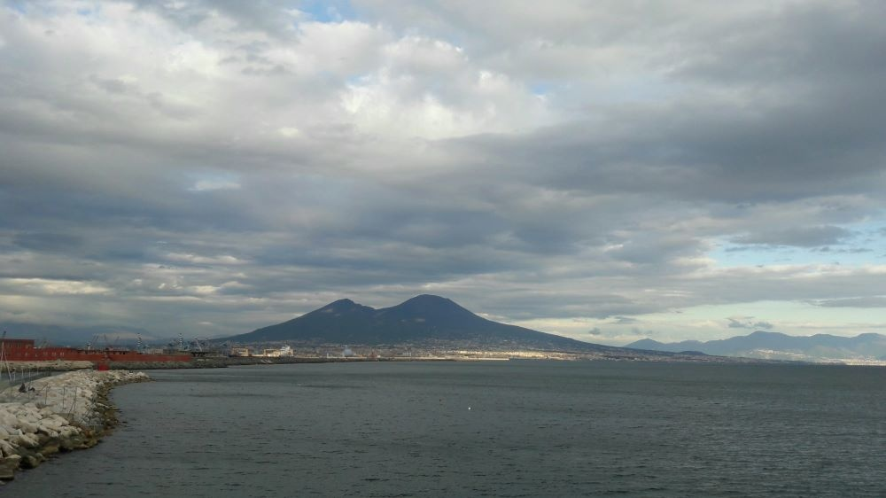 Nápoles. El Vesubio.