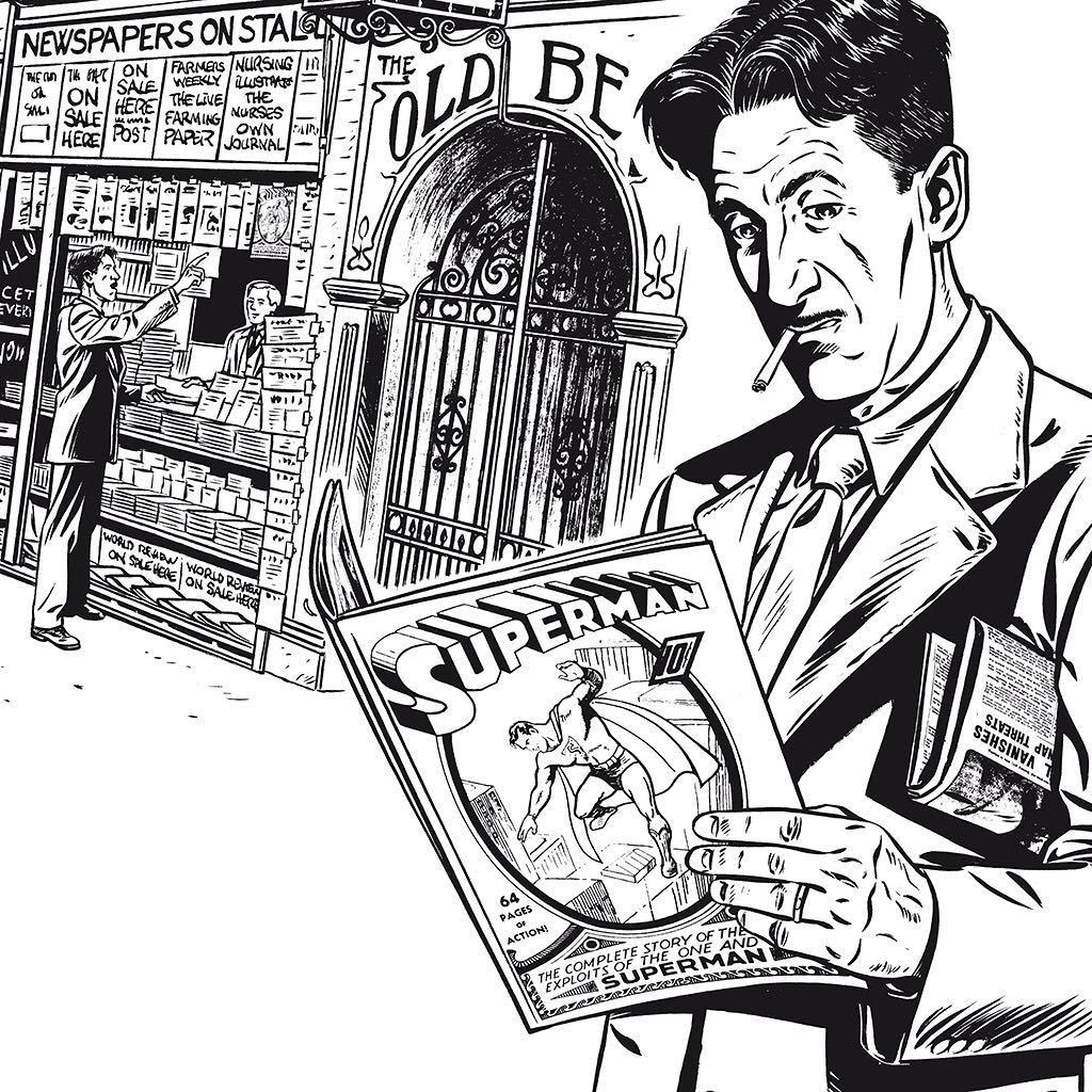 Orwell, de Christin y Verdier. Un cómic biográfico, una oportunidad perdida 2
