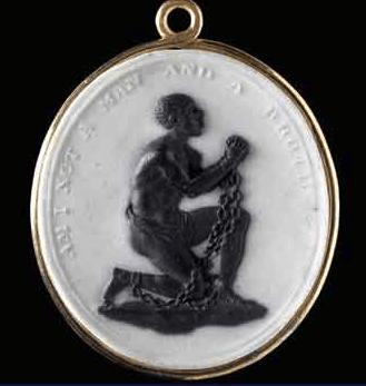 Medallón antiesclavista