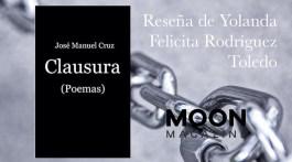 Clausura, de José Manuel Cruz: poesía del desgarro 1