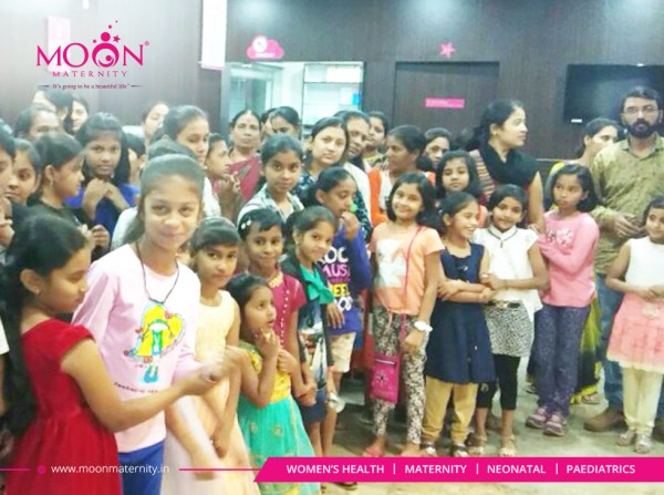 National Girl Child Day Celebration at Moon Maternity and ...