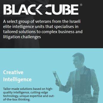 black cube website blurb