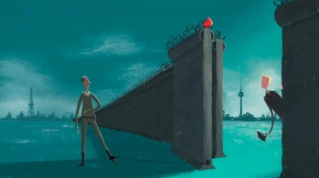 Fall of Berlin Wall story Airbnb Anniversary