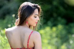 Nice Sensual Back Profile Girl