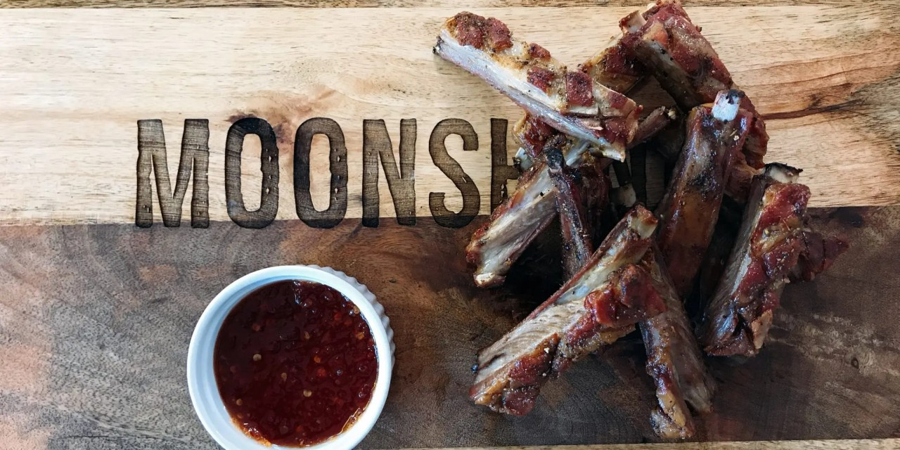 Twice-Cooked Lamb Ribs with Chilli Jam