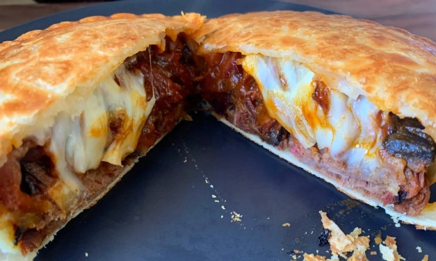 Brisket and Cheese Pie