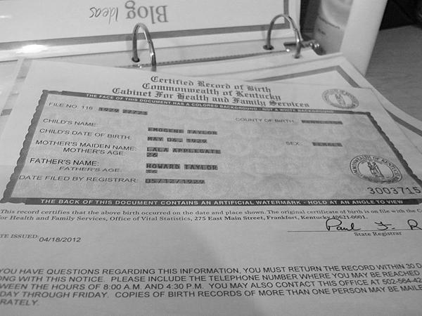 kentucky birth certificate worked fast super grandmother