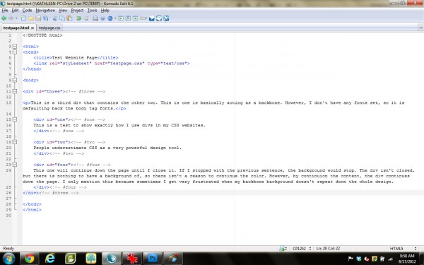 Final HTML example (click for full size)