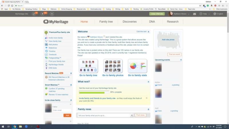 myheritage screen shot