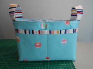 Noodlehead Divided Basket sewing project
