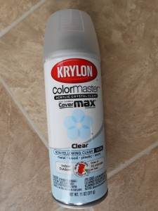 Krylon Clear Acrylic Spray Satin Finish Preserve Pine Cones