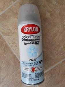 Krylon Clear Acrylic Spray Satin Finish Preserve Pine Cones