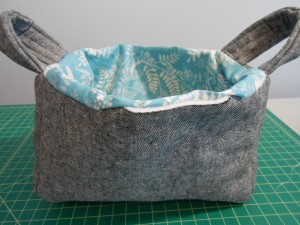 Fabric Basket Sewn