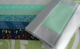 New Modern Quilt cotton and steel