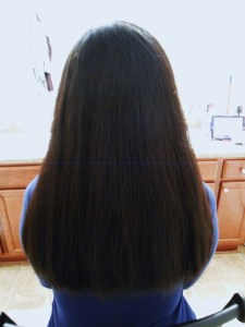 Jennifer Moore After Haircut Back