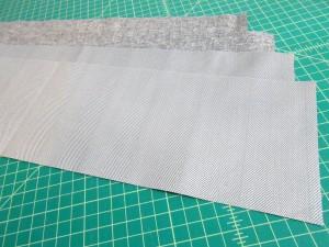 Fabric pieces cut robert kaufman essex linen