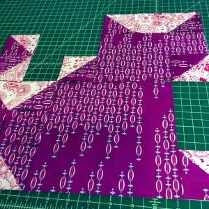 Cat Quilt Design blocks hst kittenmqs2015