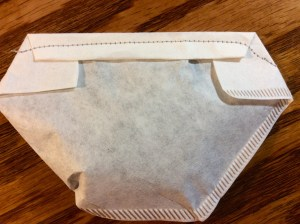 Cold brewed coffee filter sewn shut