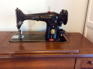 Craft room singer 201 2 vintage sewing machine